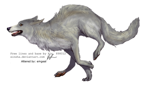 Silver Wolf by emgeal