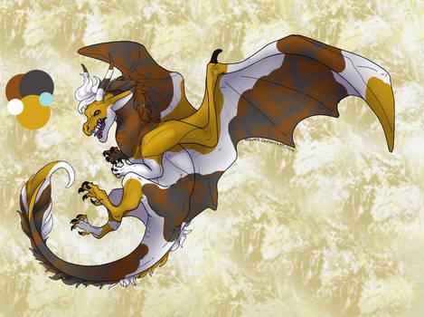 Calico Dragon for JewlzDecgan4ever