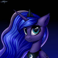 [COMMISSION] Princess Luna by Setharu