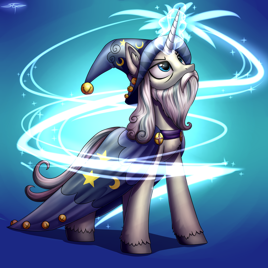 [COMMISSION] Star Swirl the Bearded by Setharu