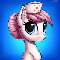 [COMMISSION] Nurse Redheart by Setharu