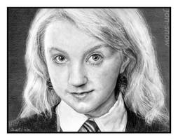 Luna Lovegood by Jon-Snow