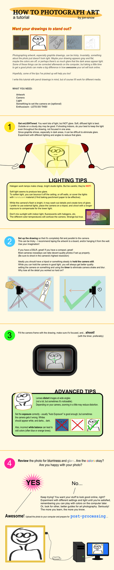 How to Photograph Art by Jon-Snow