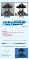 Make Art Look Good Online