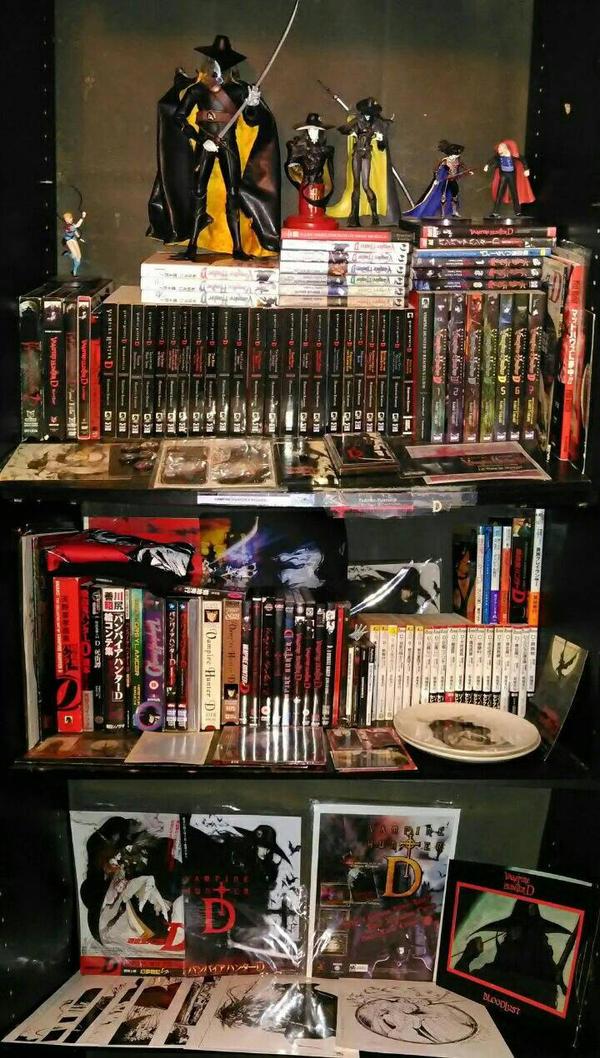 Vampire  hunter D #1 fan collection by VampireHunterDLover