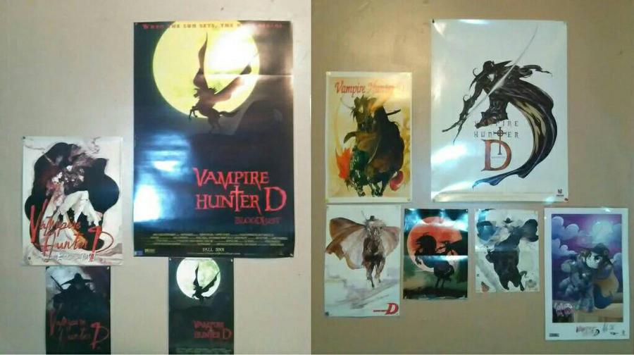 my VHD wall  by VampireHunterDLover