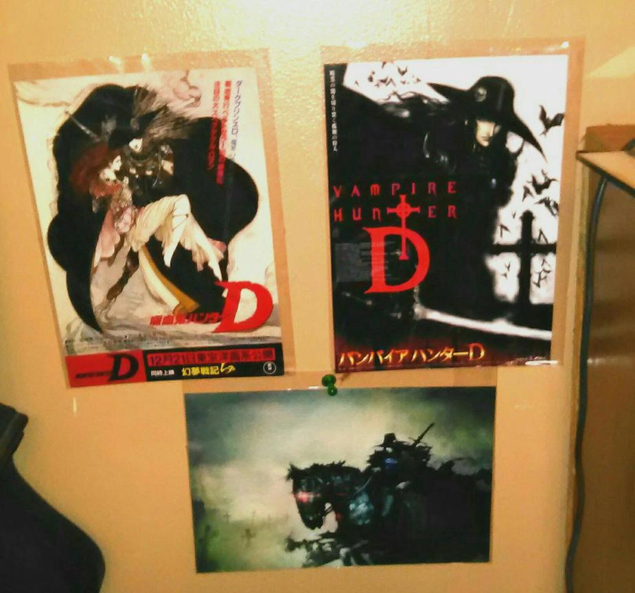 my vhd side wall by VampireHunterDLover