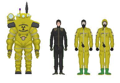 Atomic Energy Bureau (AEB) Rescue Suit