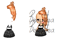 Party Dress/Hair by Beautilea