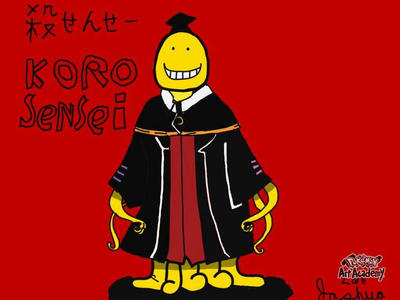 Koro-Sensei from Assasination Classroom