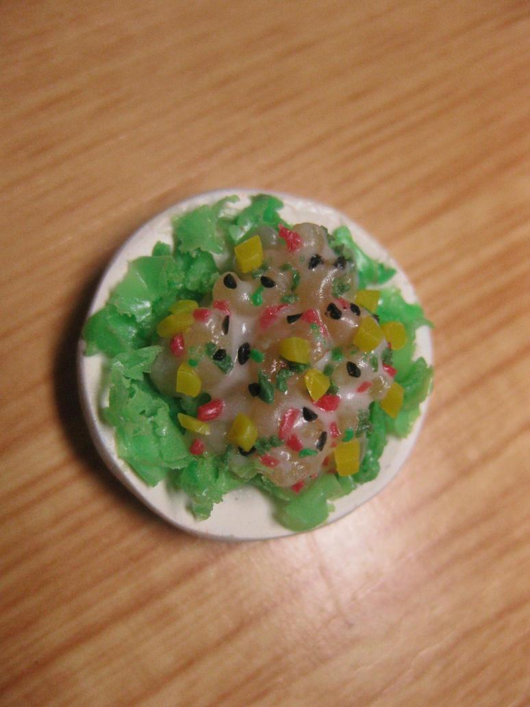 macaroni salad with veggie sidings by jong28