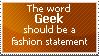 The word geek should... stamp by nintendo309