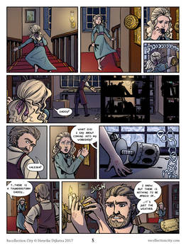 Recollection City page 8 - Valeska