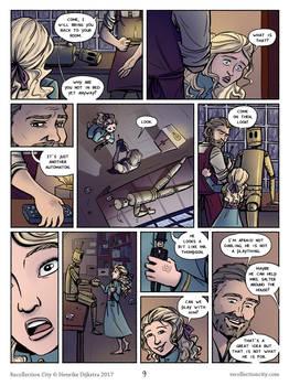 Recollection City page 9 - Automaton