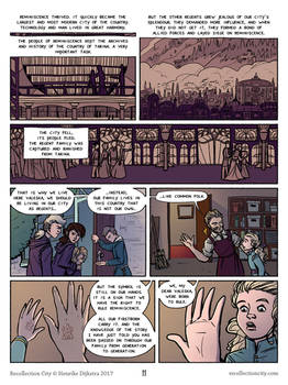 Recollection City page 11 - The regent symbol