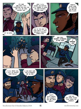 Recollection City page 46 - Threats