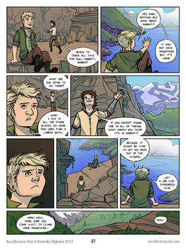 Recollection City page 49 - Adventure is over?
