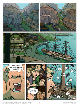 Recollection City page 51 - The boat to Narrati