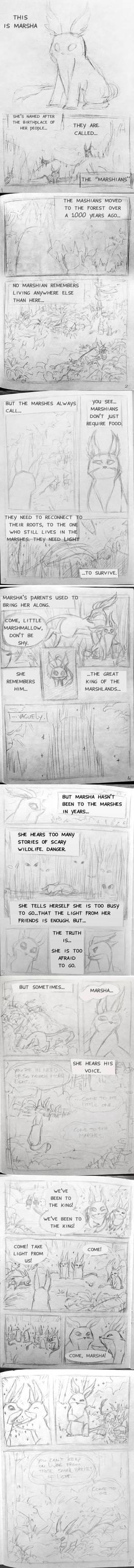 The Marshians 1 - 24 Hour Comic Day 2019