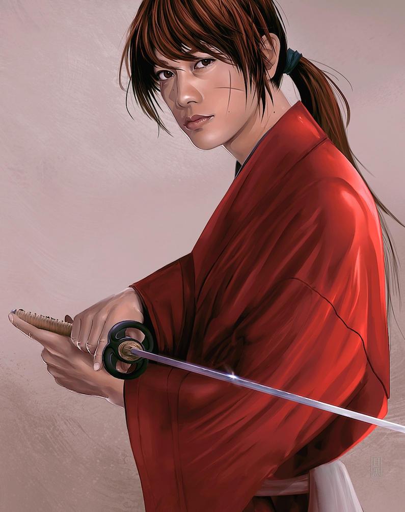 Rurouni Kenshin by megurobonin