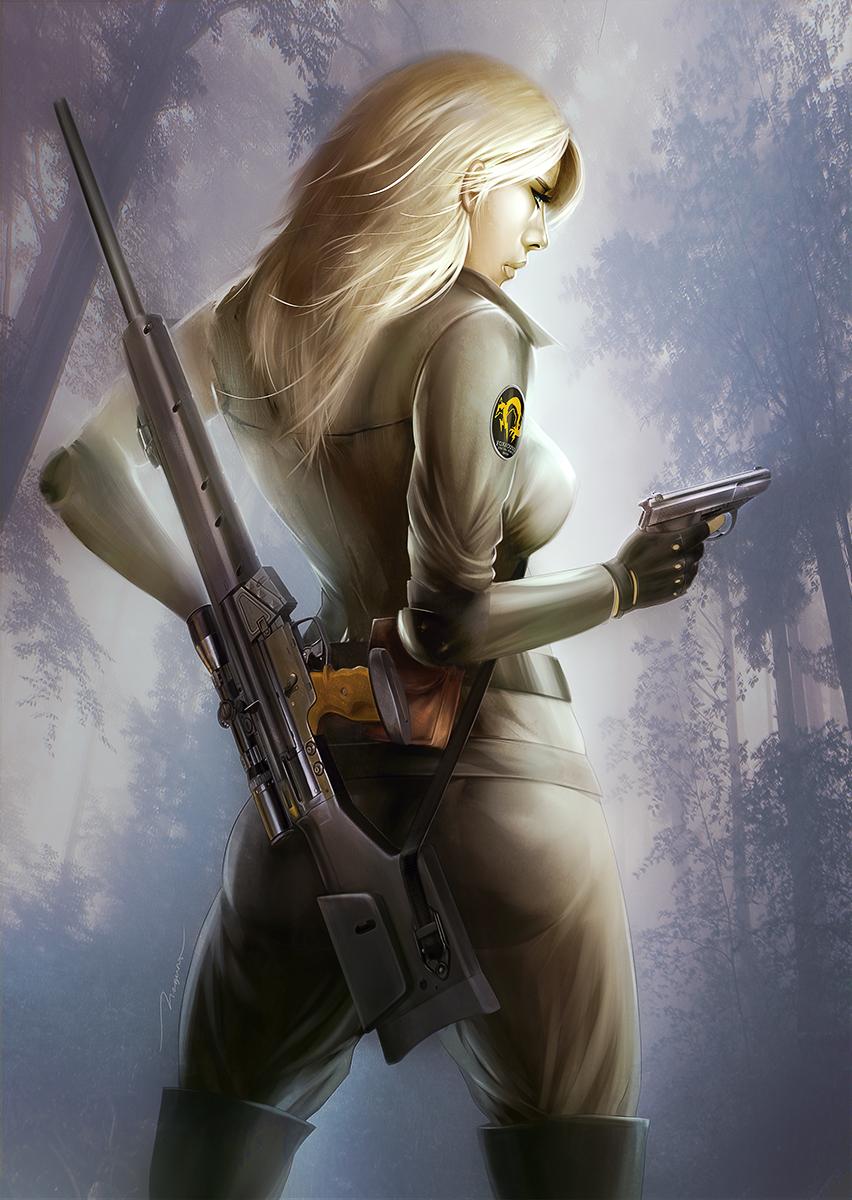 Sniper Wolf by megurobonin