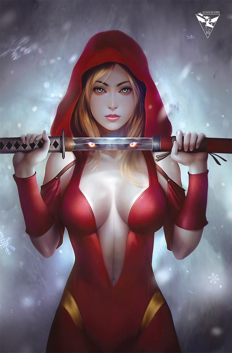 Red Riding Hood 10th Anniversary by megurobonin