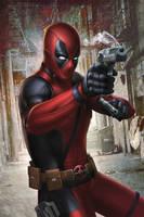 Deadpool by megurobonin