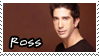 Friends: Ross Geller by Claire-stamps
