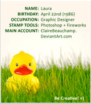 ID: Rubber Duck