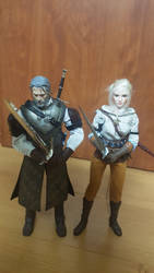 Ciri and Geralt - Father and Daughter