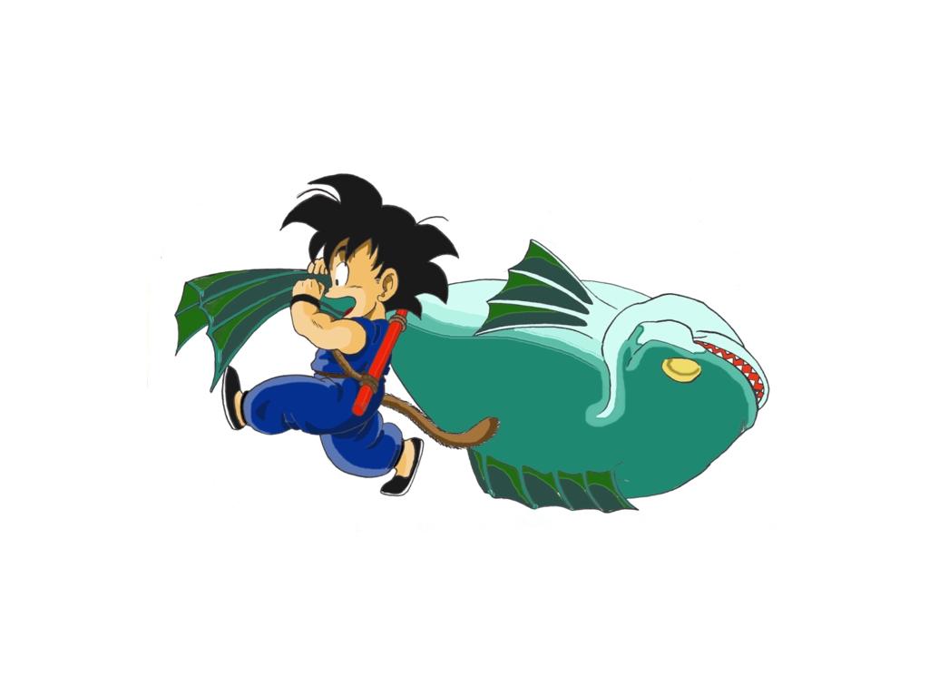 Resultado de imagen para goku fish