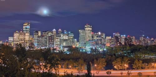 Calgary Skyline HDR