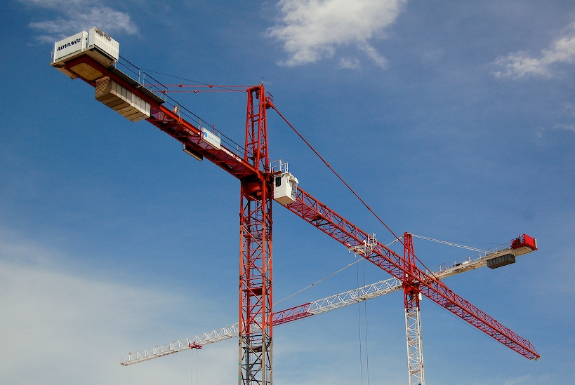 Swooping Cranes.