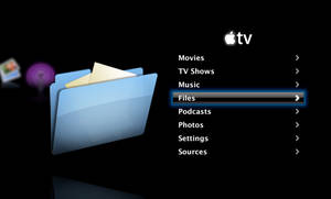 Apple TV ATV Files Icon