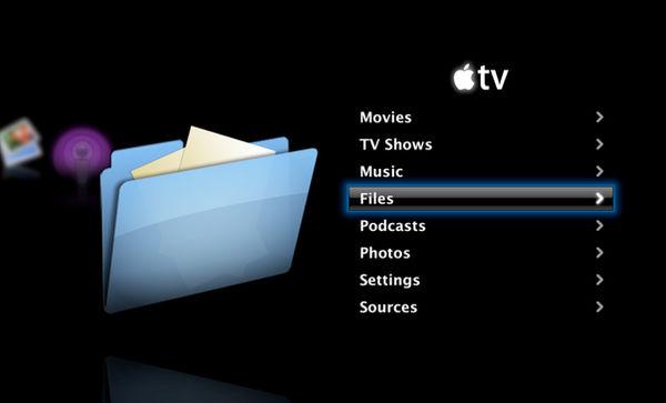 Apple TV ATV Files Icon