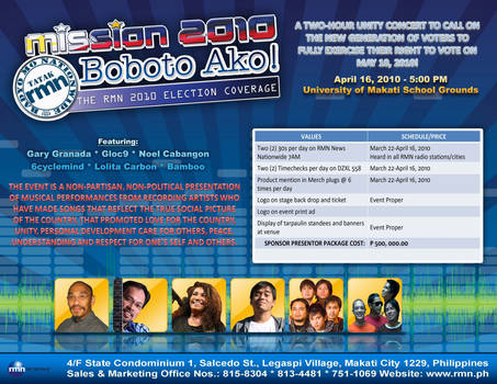 RMN Mission 2010: Boboto ako