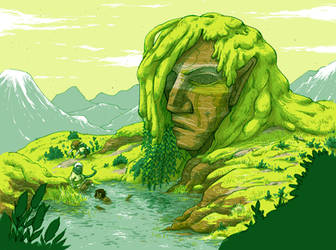 The mighty Rockhead by laredcarpette