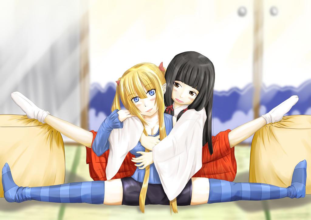 two splits
