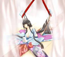 minori's oversplit by akihiro
