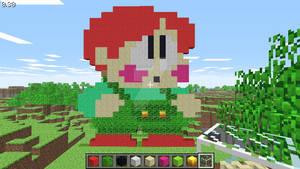 Bub (Bubby) (Rainbow Islands) in Minecraft
