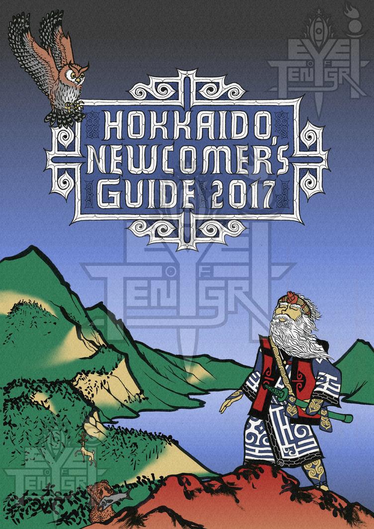 Hokkaido Newcomer's Guide 2017 Cover by eye-of-tengri