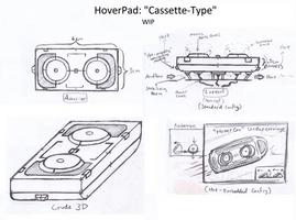 Highwave(concept): Cassette-Type HoverPad