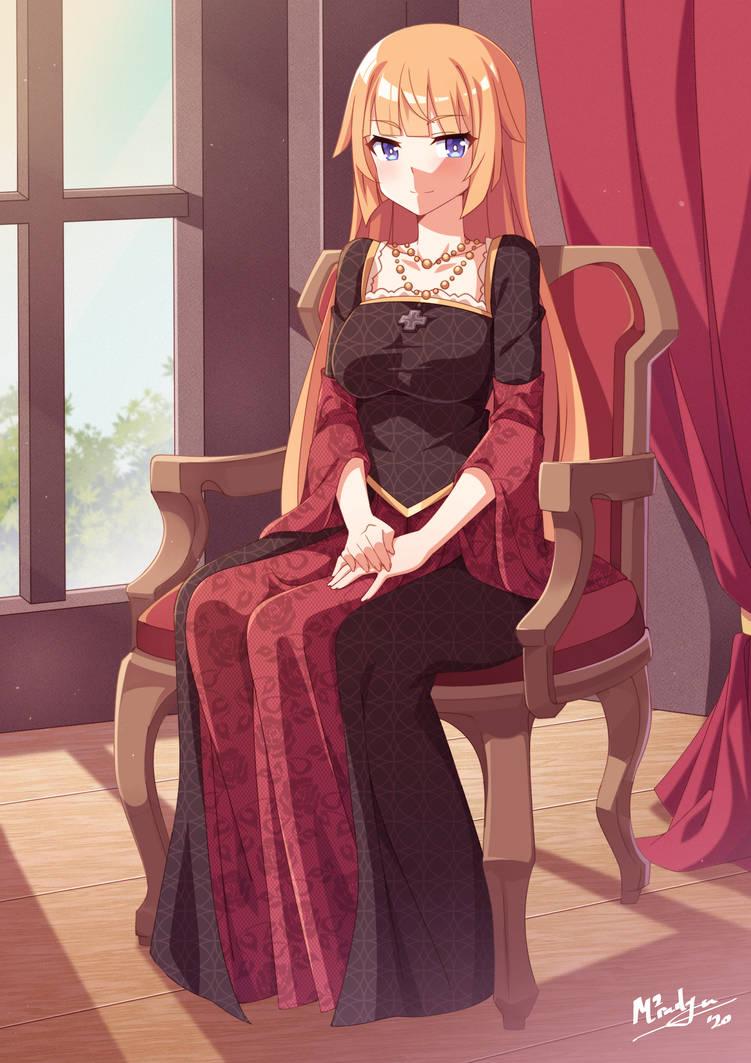 Portrait of a Future Princess