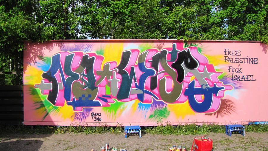 No War - june 2010 by Aamukaksi