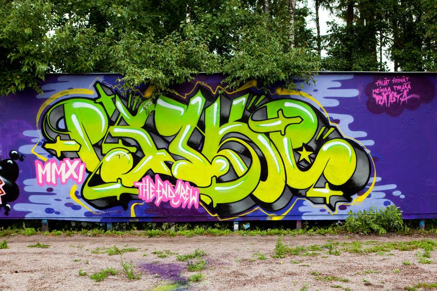 Psyke - July 2011 by Aamukaksi