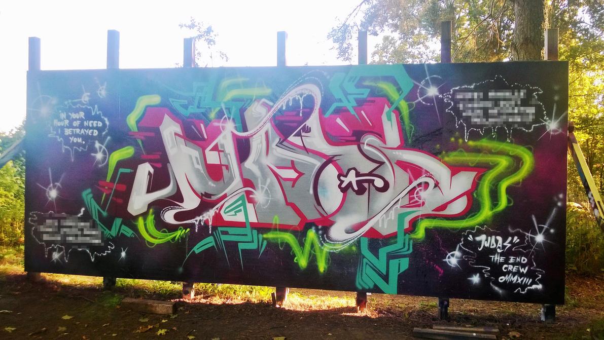 Judas - September 2013 by Aamukaksi