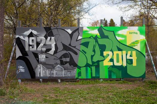 Kerava 1924-2014 - May 2014
