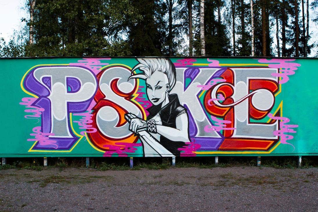Psyke - September 2014 by Aamukaksi