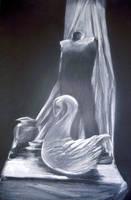 White on Black by DRayKenobi
