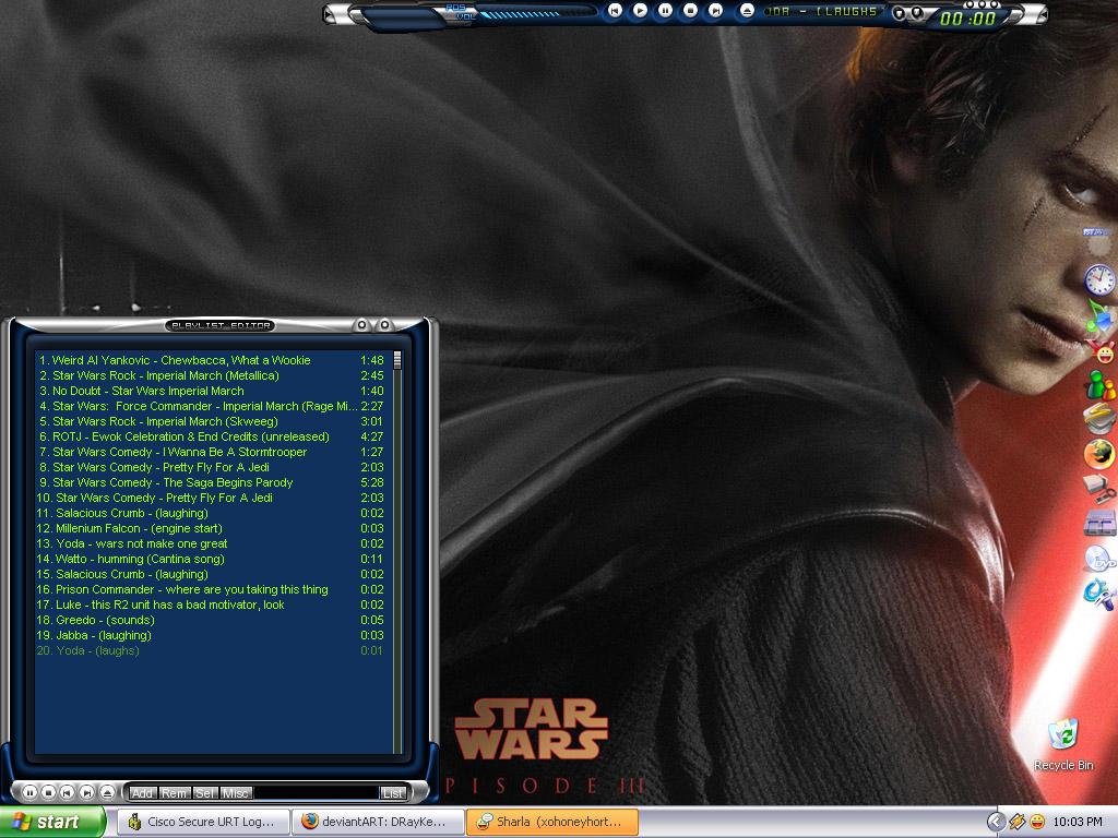 Revenge of the Desktop by DRayKenobi